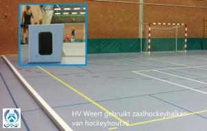 houten zaalhockeybalk